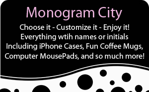 Monogram City banner ad